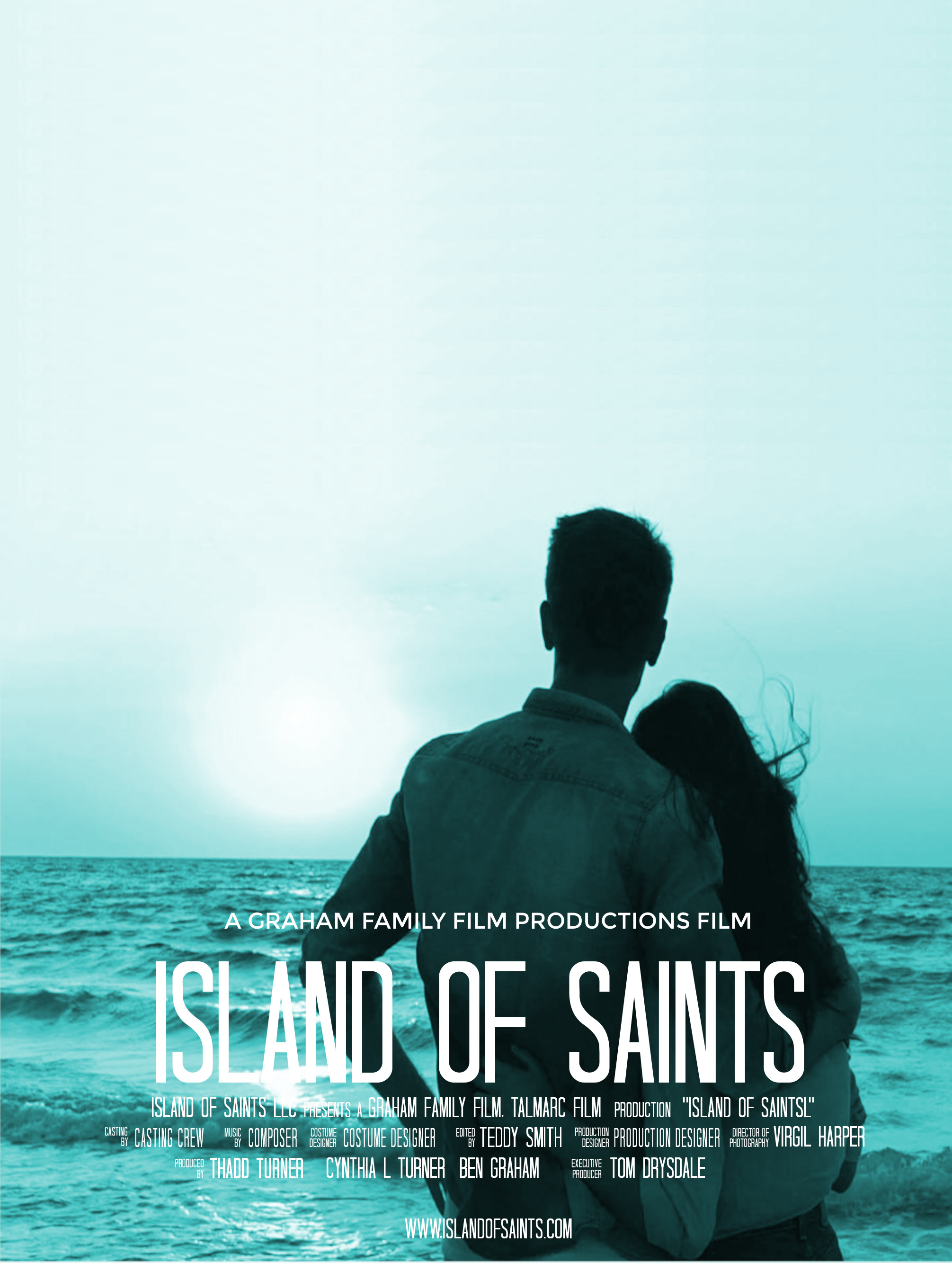 ISLANDS OF SAINTS Movie Poster Template.