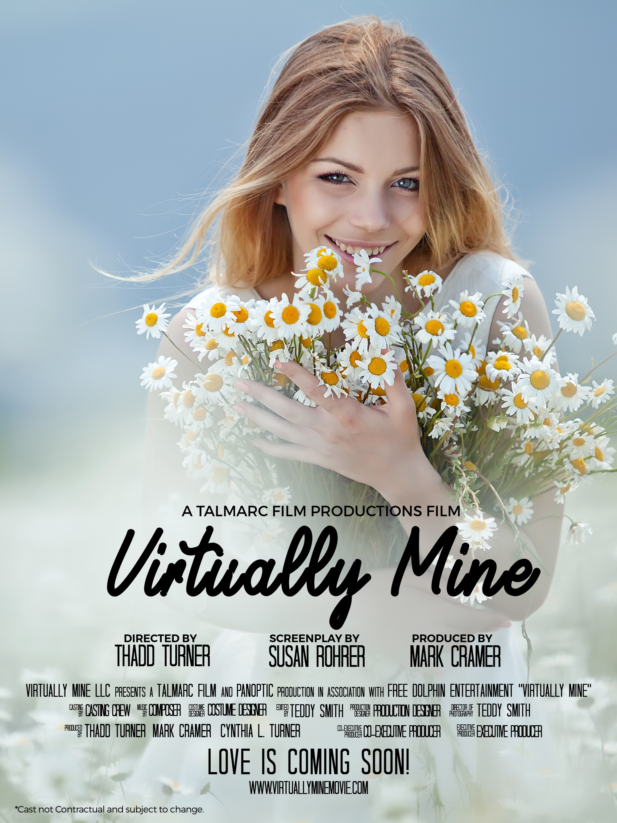 Virtually Mine Movie Poster no actors