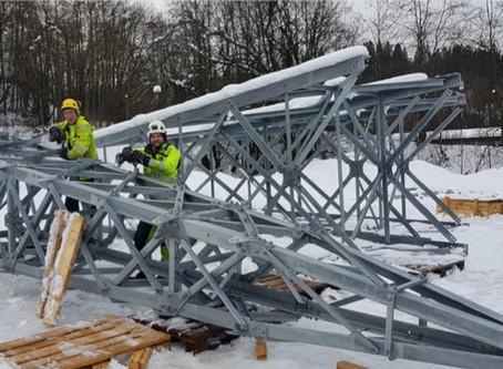 Ny bru ved Sluppen - ON Energi er godt i gang med forberedende arbeider for Nydalsbrua