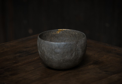 Soda fired tea cup