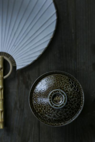 Tea bowl lid