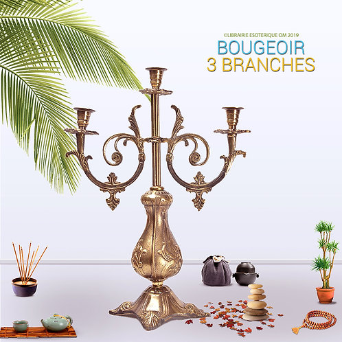 Bougeoir à 3 Branches