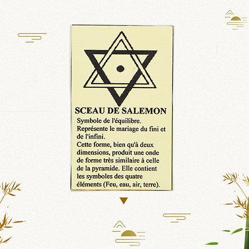 Pentacle Sceau de Salomon