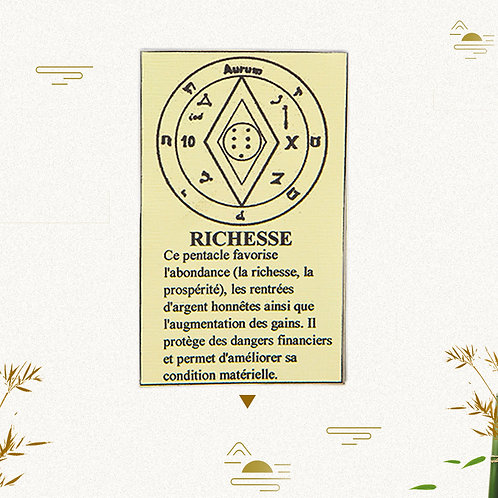Pentacle Richesse