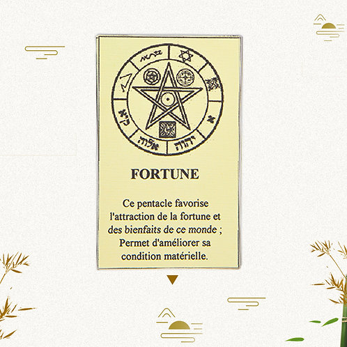 Pentacle fortune