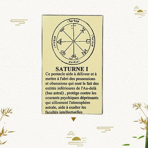Pentacle Saturne 1