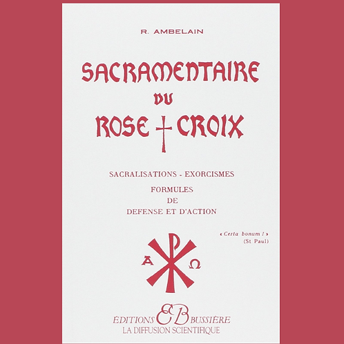 Sacramentaire du Rose croix