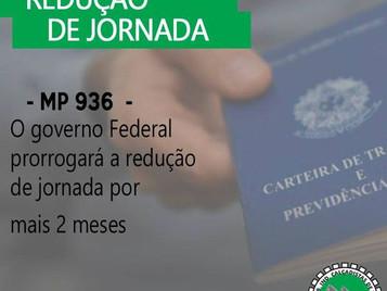 PRORROGAÇÃO DA REDUÇÃO DE JORNADA