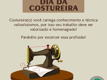 25 DE MAIO – DIA DA COSTUREIRA