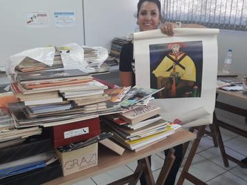 CURSO DE DESENHO ARTÍSTICO RECEBE DOAÇÃO DE MATERIAL