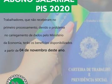 ABONO SALARIAL PIS 2020