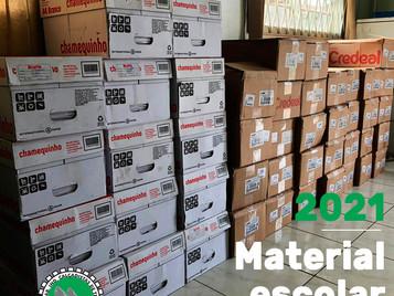 Siticalte inicia compra do material escolar 2021