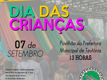 SITICALTE REALIZA FESTA DAS CRIANÇAS NO DIA 7 DE SETEMBRO