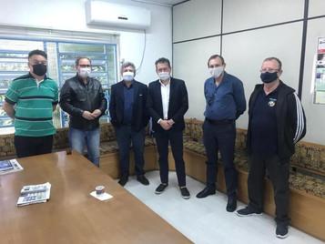 Reunião com o Deputado Estadual Dalciso Oliveira