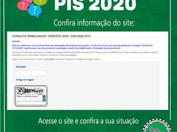 PIS 2020 está em processamento