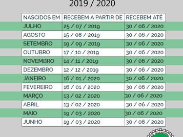 DIVULGADO O CALENDÁRIO DE PAGAMENTO DO ABONO SALARIAL PIS-PASEP 2019-2020