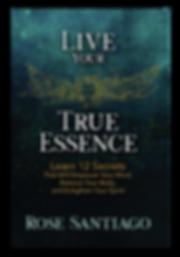 Live Your True Essence Book