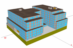 Energy Modeling: Bellevue Station  Proje