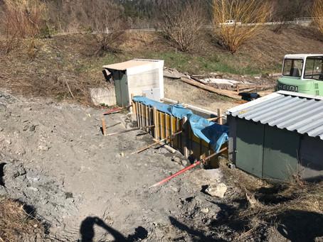 Sanierung Jagdanlage Nulez 2019