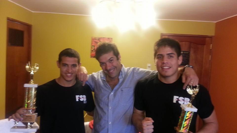 Prosperi y Team Ecuador