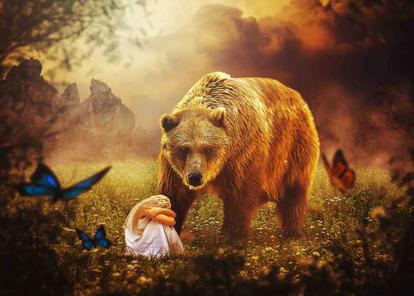 Das Mädchen und der Bär.jpg