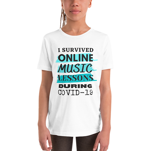 COVID19 Survival Shirt - White