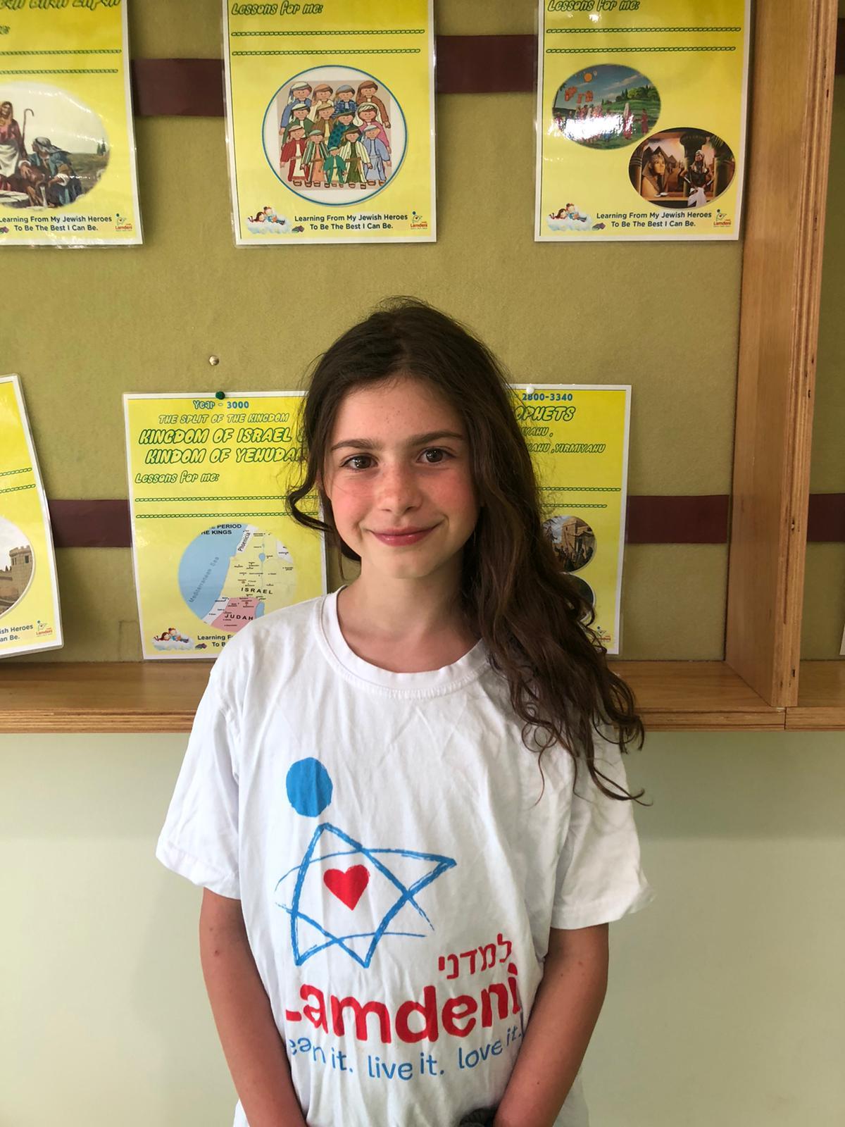 Gabriela Brodsky Grade 5