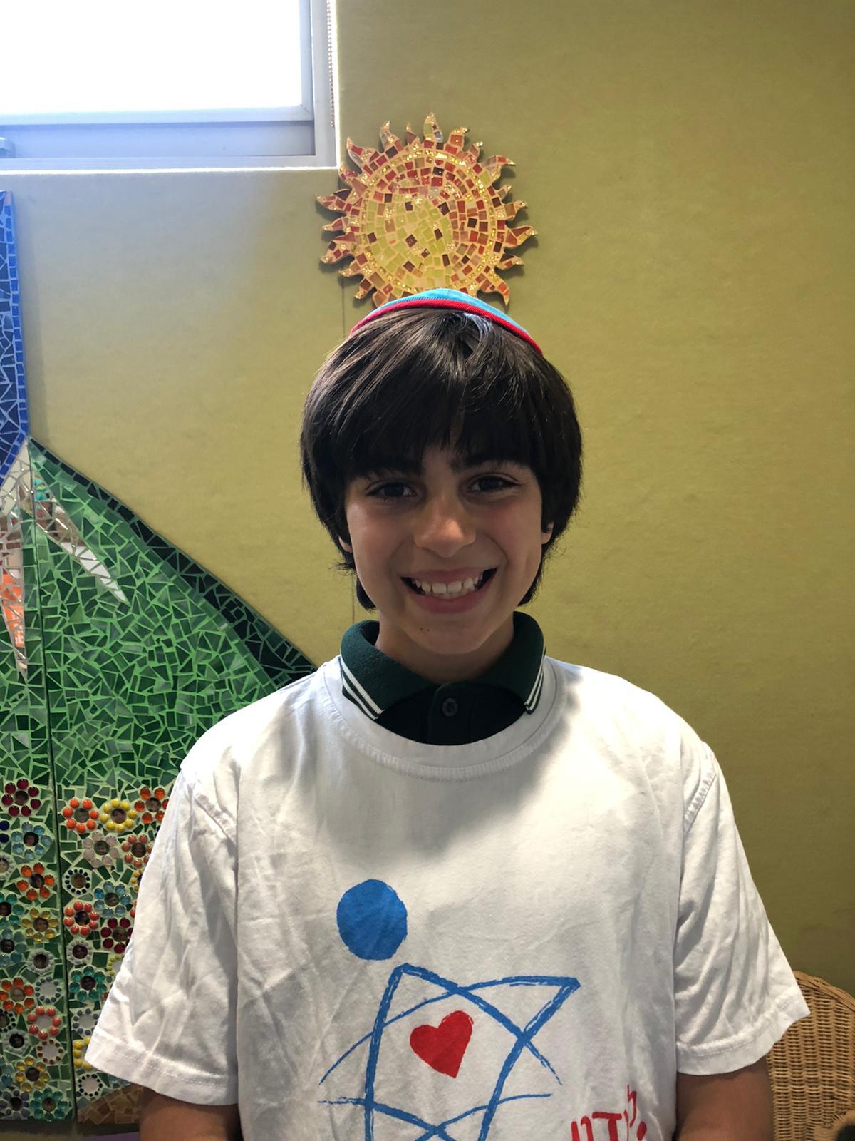Max Shmuel Yosef Freund Grade 4
