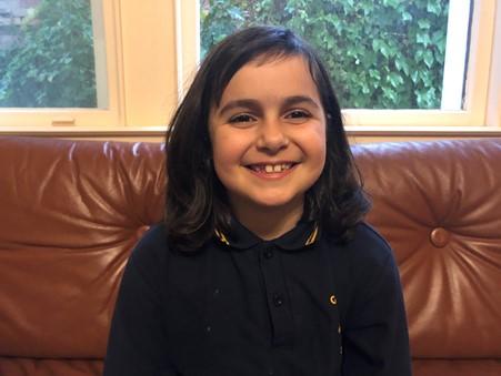 Sophia Cowen Grade 3