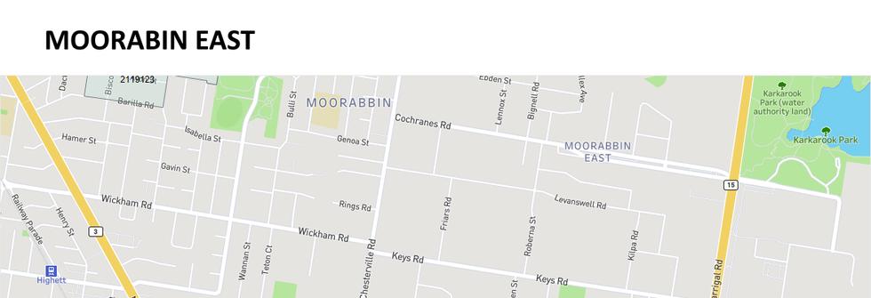 Moorabbin East