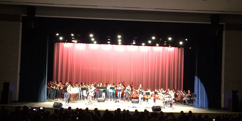Reignite with Symphonic Orchestra:  TEMPEST LIVE