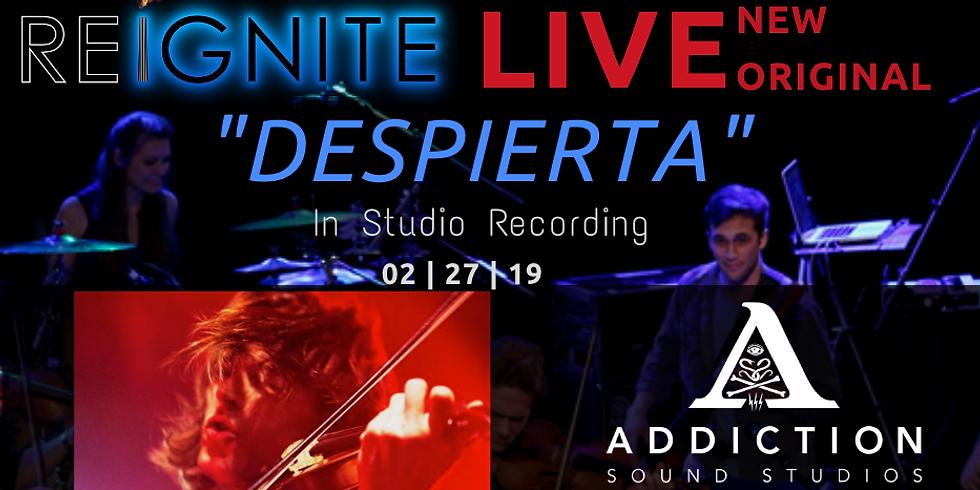 Reignite LIVE at Addiction Sound Studios Ft. Zach Brock