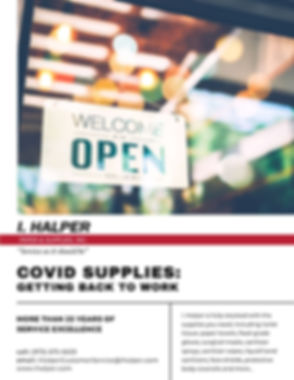 I. Halper COVID Catalog