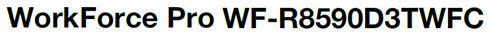 Epson WorkForce Pro R8590 D3TWFC