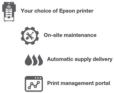 Included with your Free Epson Printer
