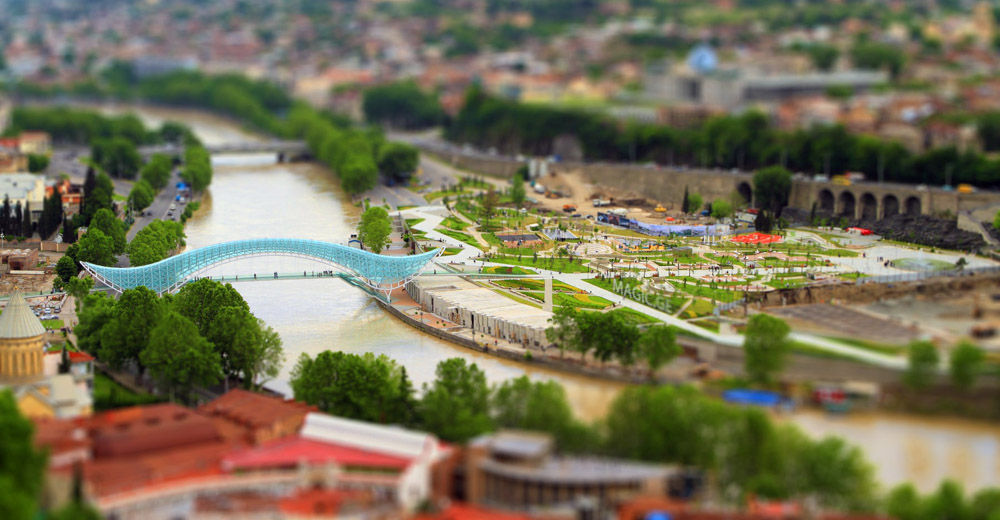 Tbilisi Tilt-Shift