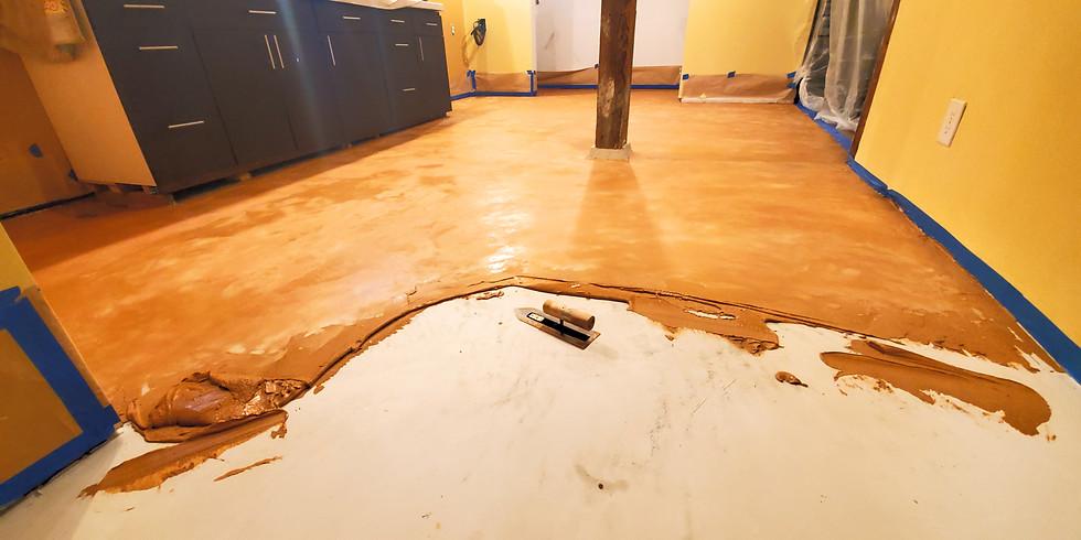 Floor Slab & Interior Framing