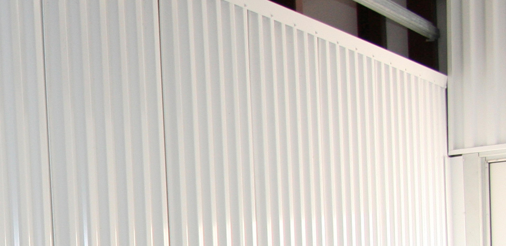 Galvalume Burglar Bars with corrugated h