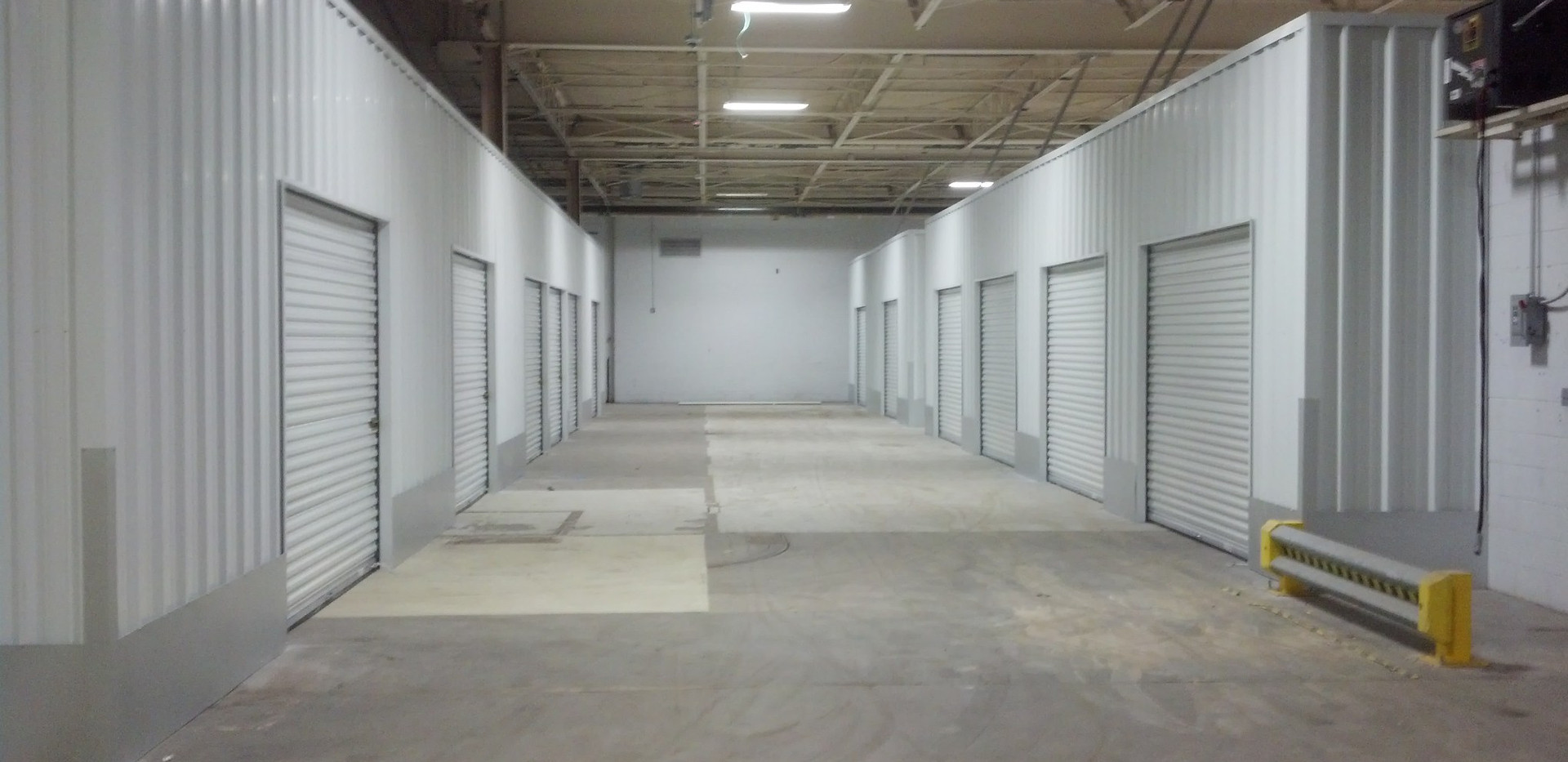Tall System - corrugated wall panels - d