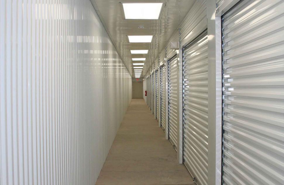 Corrugated wall sheeting - corrugated he