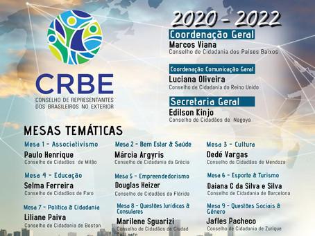 CRBE - Conselho de Representantes Brasileiros no Exterior - Mesa de Empreendedorismo