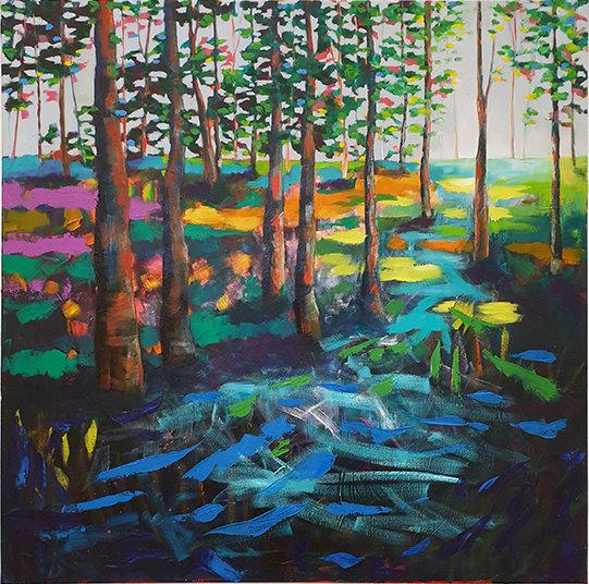 'Woodland Walk' Print