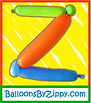 Balloon art, balloon sculpture, The Scream, Edvard Munch, Washington DC balloon artist, Zippy, Julie Zauzmer