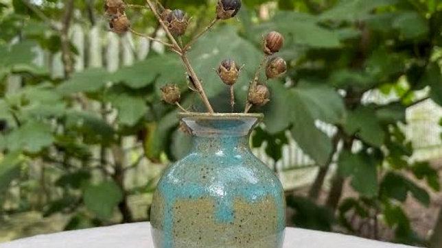 Mini Bud Vase - Blue