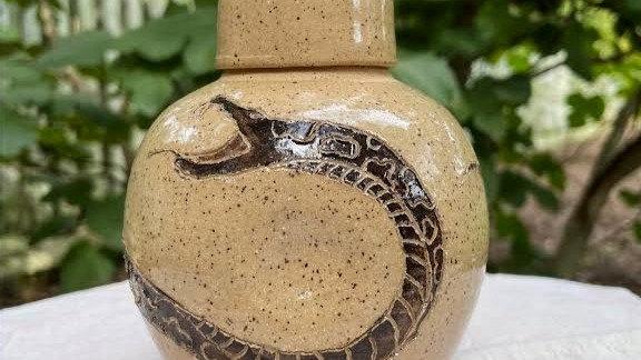 Whiskey Carafe - Snake
