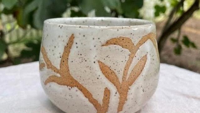 Succulent Bowl - White