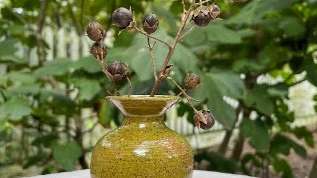 Mini Bud Vase - Olive