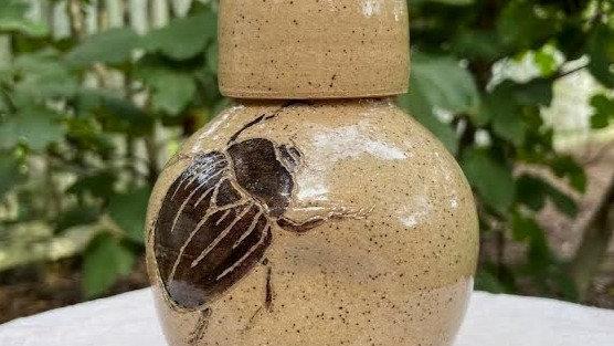 Whiskey Carafe - Beetle