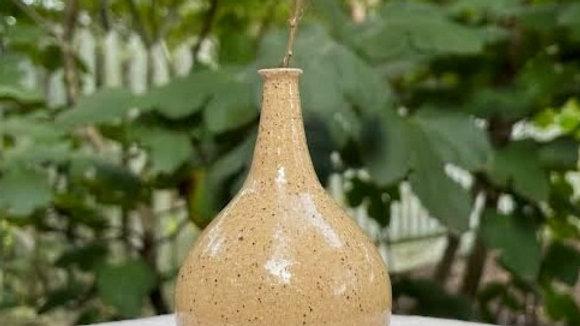 Mini Teardrop Bud Vase - Clear