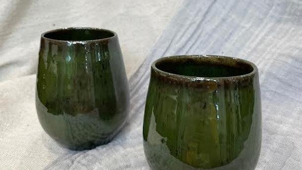 Wine Glass - Seaweed